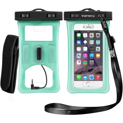 Floatable Waterproof Phone Case-Green