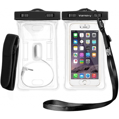 Floatable Waterproof Phone Case-Transparence